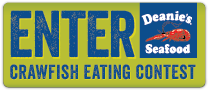 Deanie's Seafood Register Crawfish Eating Contest Pinch A Palooza Festival New Orleans Bucktown