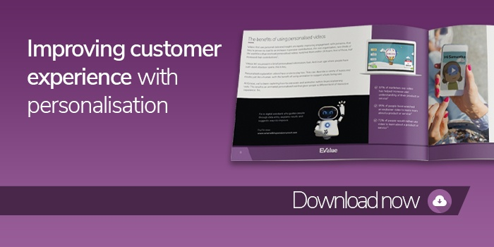 Improve customer experience with personalisation ebook