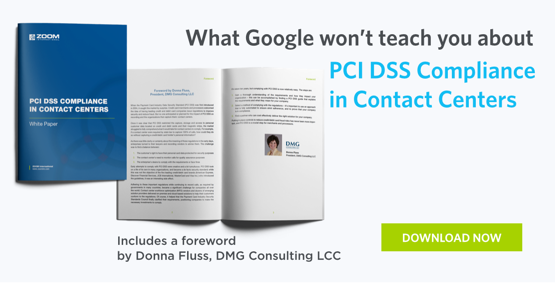 PCI DSS Compliance in Contact Centers Whitepaper