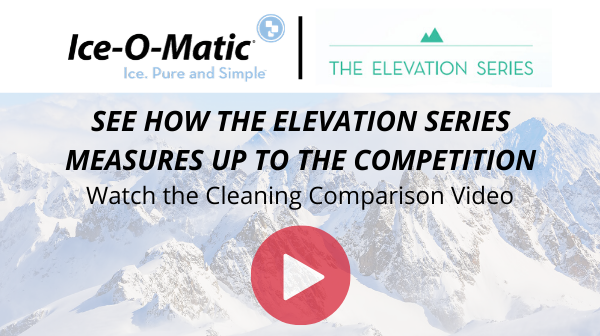 ice-o-matic elevation series ice maker