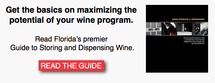 Florida's Guide to Storing and Dispensing Wine CTA