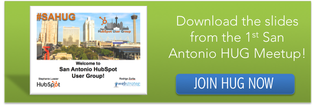 san antonio hubspot user group_how to build an inbound marketing plan