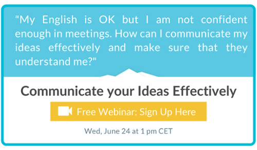 Communicate your ideas effectively - Free Webinar Signup