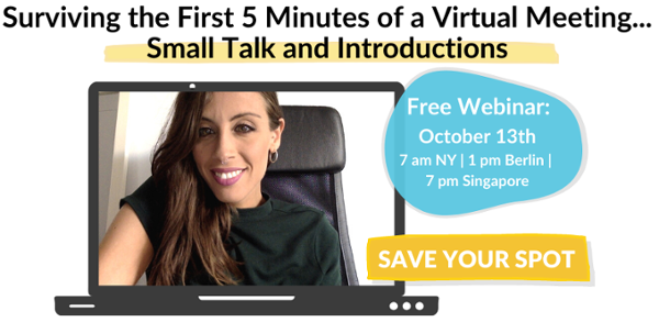 Webinar: Small Talk & Introductions