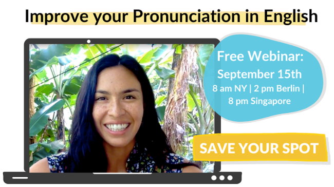 How to Improve your Accent in English Free Webinar