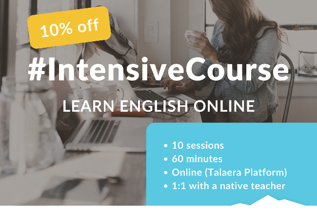 Intensive Course Learn English Online