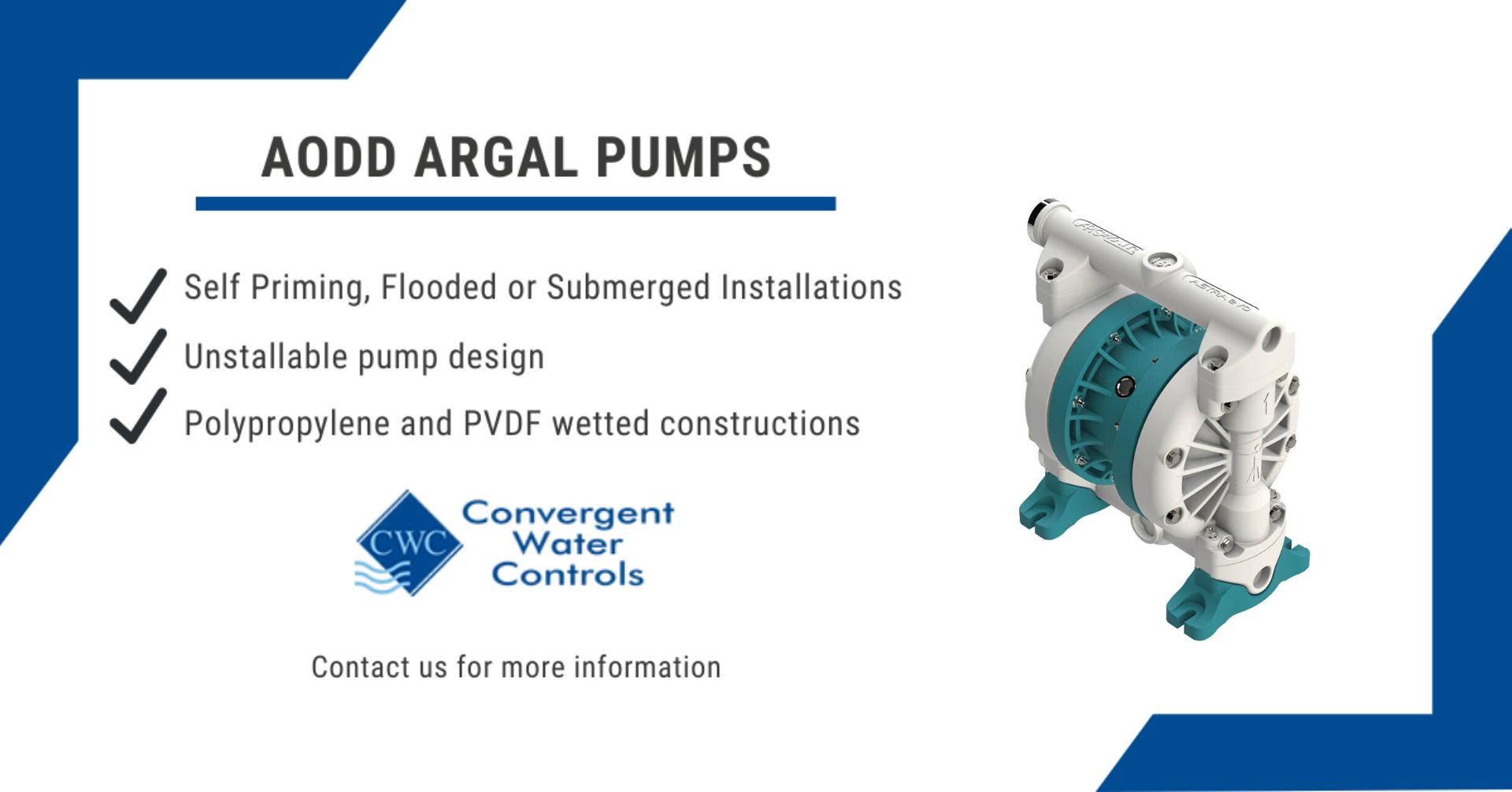 AODD Argal Pumps - Contact us for more information