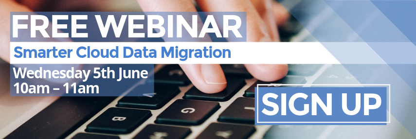 Homepage CTA - smarter cloud data migration webinar