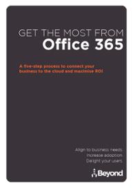 Beyond Office 365 Brochure Image