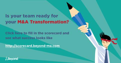 Beyond M&A Scorecard