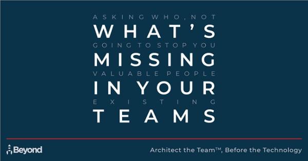 Take the Tech Team Scorecard