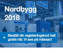 Biljett till Nordbygg 2018