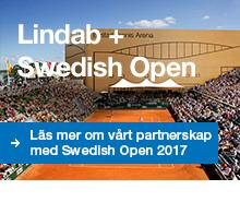 Läs om vårt samarbetet med Swedish Open