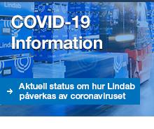COVID-19-information om hur Lindab påverkas