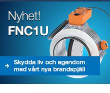 Lindab Brandspjäll FNC1U