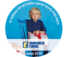 Barncancerfonden Julen 2019