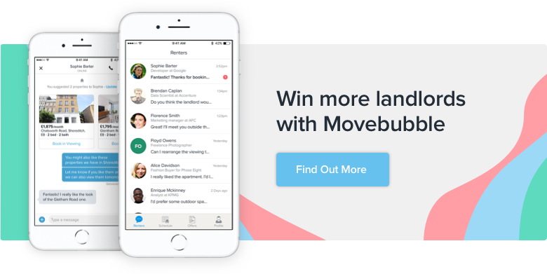 Build your reputation on Movebubble and use it to win more Landlords!