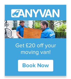 AnyVan £20 Off
