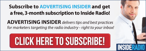 Subscribe to Advertising Insider by Inside Radio