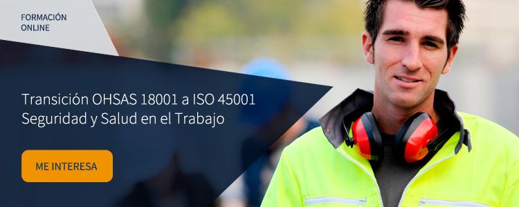 Curso online ISO 45001