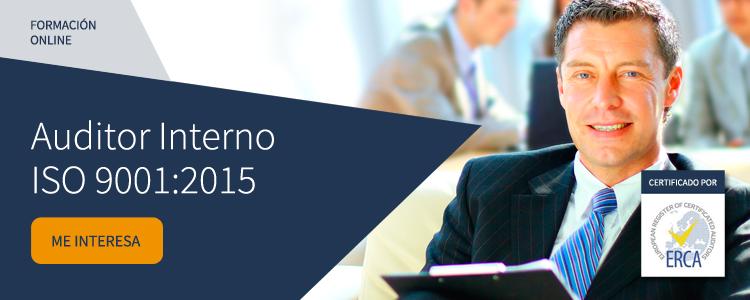 curso online auditor interno iso 9001:2015