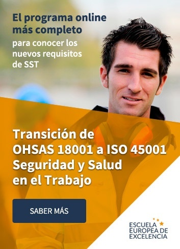 Programa online Transición de OHSAS 18001 a ISO 45001 Seguridad y Salud en el Trabajo