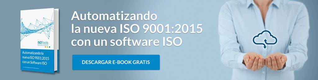 E-book gratis 10 pasos transición ISO 9001:2008 - ISO 9001:2015