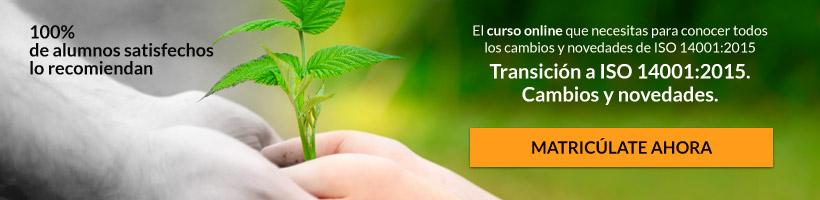 Curso Futura ISO 14001:2015. Adelantarse a los Cambios Clave
