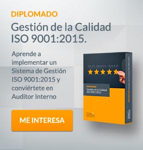 Diplomado Gestión Calidad ISO 9001:2015