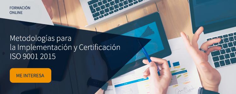 Taller online ISO 9001:2015 Enfoque basado en riesgos