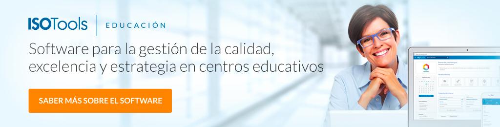 Software ISOTools Educación