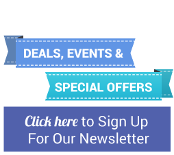 Click here to sign up for our newsletter to recieve deals, offers and more.