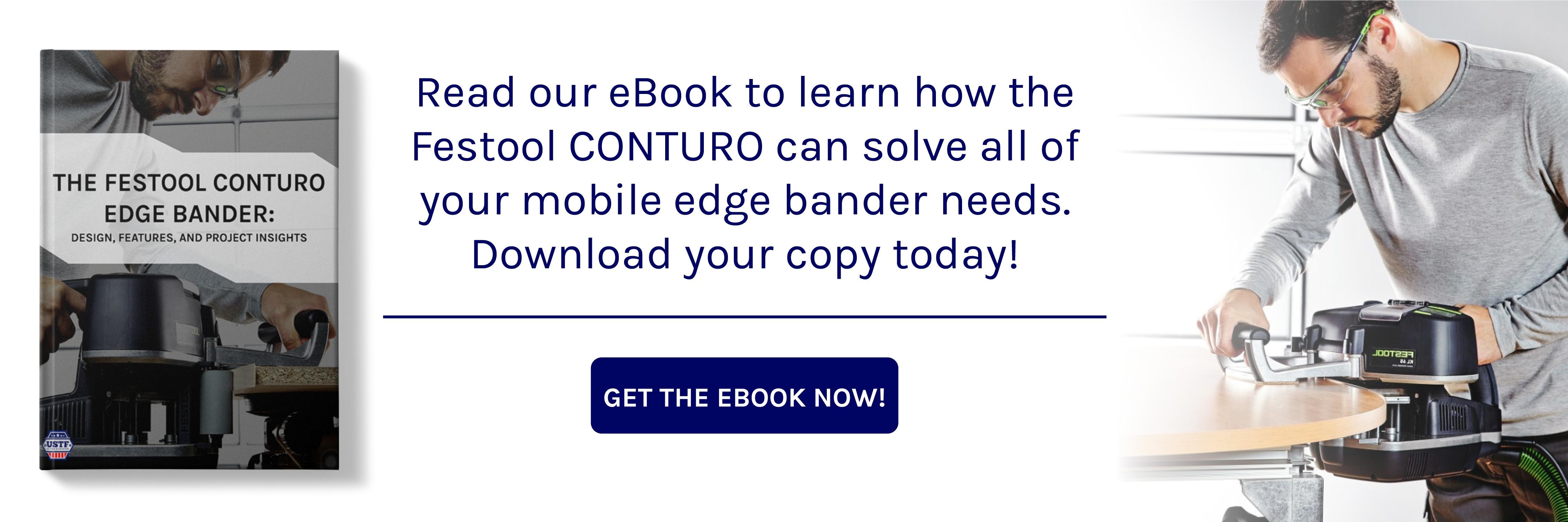 The Festool CONTURO Edge Bander ebook