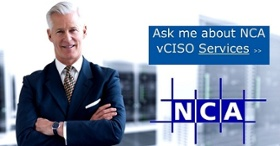 Ask me about NCA vCISO Services