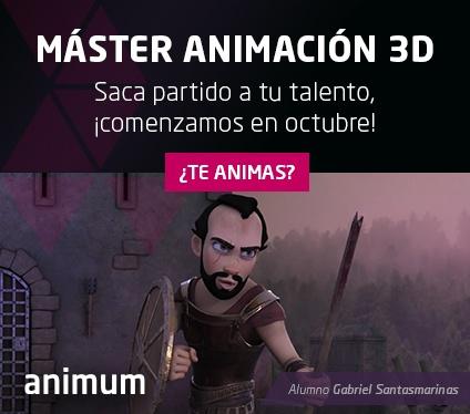 Máster Animación para Cine y Videojuegos