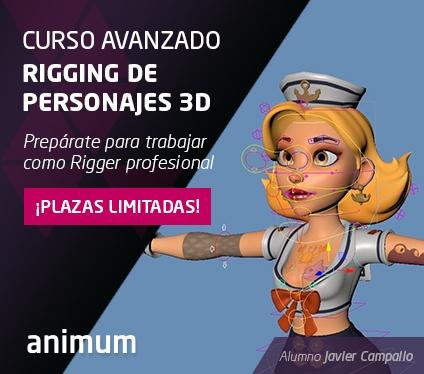Curso Avanzado Rigging de Personajes 3D
