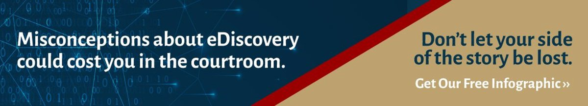 eDiscovery campaign banner call-to-action