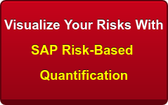 Visualize Your Risks With  SAP Risk-Based   Quantification