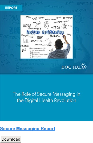 Secure Messaging Report Download