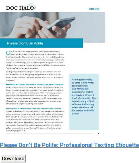 Insights-Professional Texting