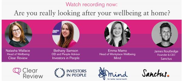 Wellbeing webinar