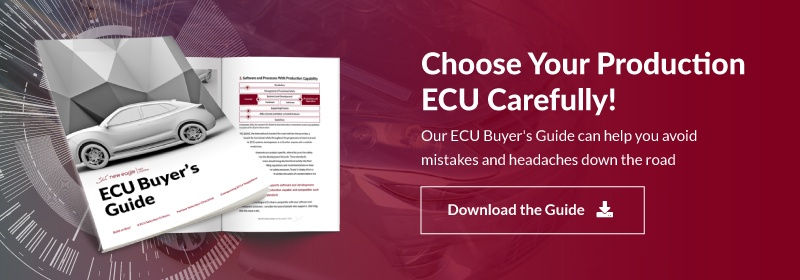 Choose Your Production ECU Carefully! Download the Guide