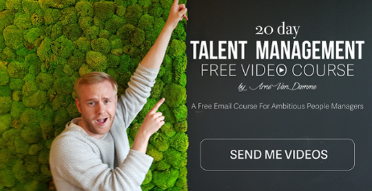 Arne Talent Management Video Course