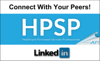 Connect With Your Peers - Healthcare Purchased Services Professionals