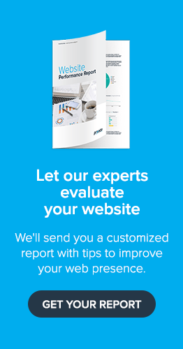 Get your website performance report