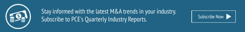 Subscribe to PCE's Quarterly Industry Reports