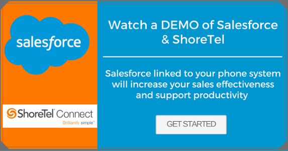 Salesforce ShoreTel DEMO