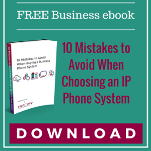 eBook - 10 Mistakes to avoid when buying a phone system