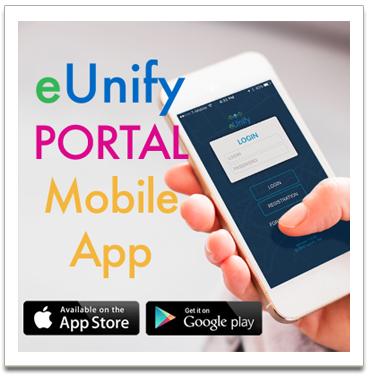eUnify Portal Mobile App Community Link