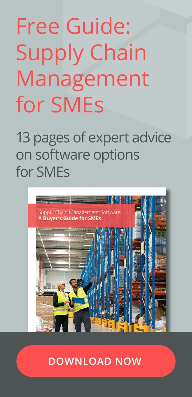 Free Guide: Supply Chain Management for SMEs - 13 Pages of expert advice on software options for SMEs